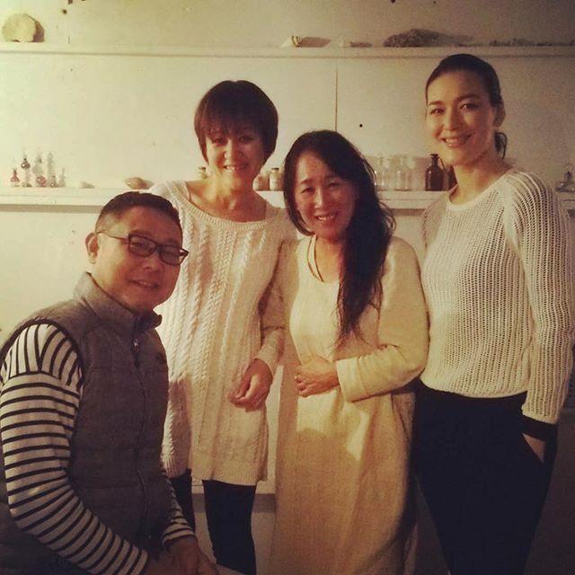 諏訪綾子さん(food creation) 来島 / food artist Ayako Suwa's visit